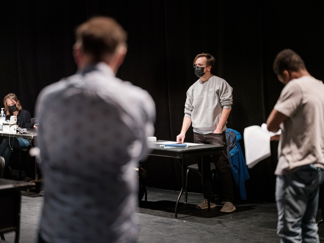 Jean-Simon Traversy, metteur en scène