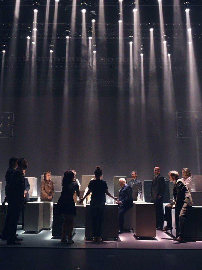 Coulisses de la pièce Oslo présentée par Duceppe