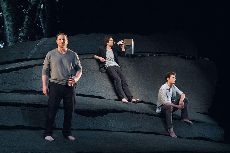 Alexandre Goyette, Maxime Denommée et Félix-Antoine Duval