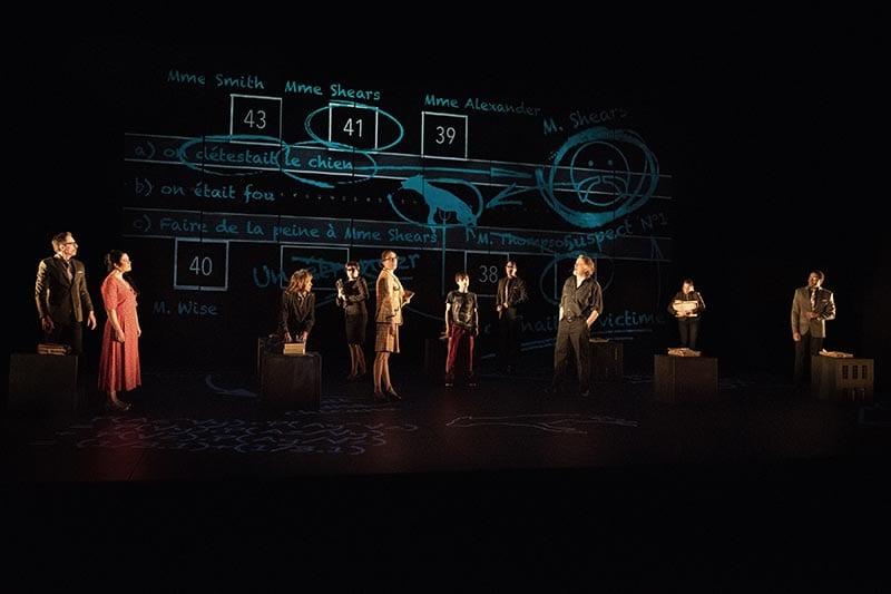 Stéphane Breton, Catherine Dajczman, Adèle Reinhardt, Milva Ménard, Cynthia Wu-Maheux, Sébastien René, Philippe Robert, Normand D'Amour, Catherine Proulx-Lemay et Lyndz Dantiste