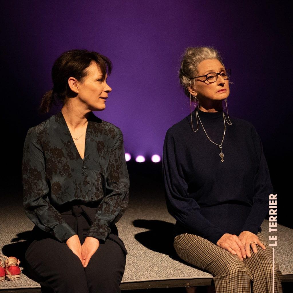 Entrevue avec Sandrine Bisson et Pierrette Robitaille