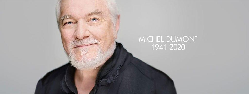 <p>Hommage à Michel Dumont</p>