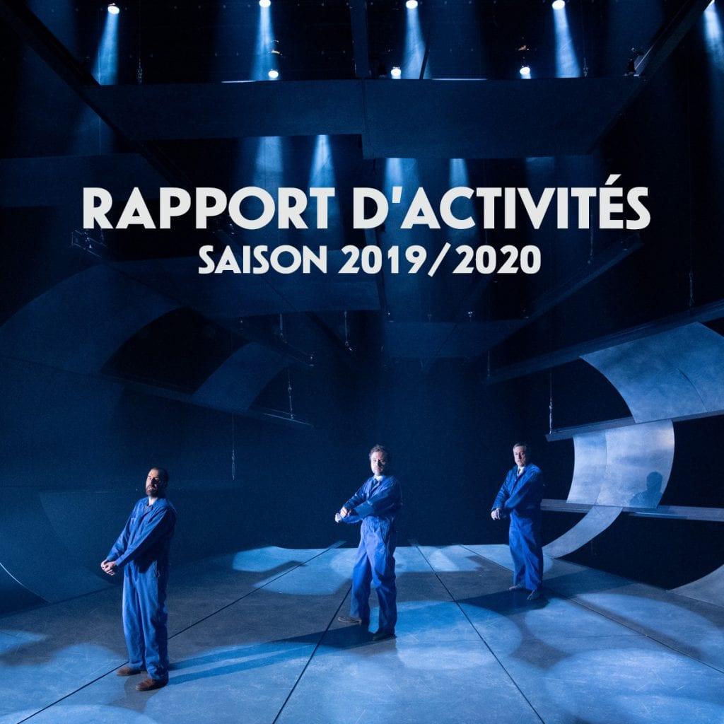 Rapport d'activités – Saison 2019-2020