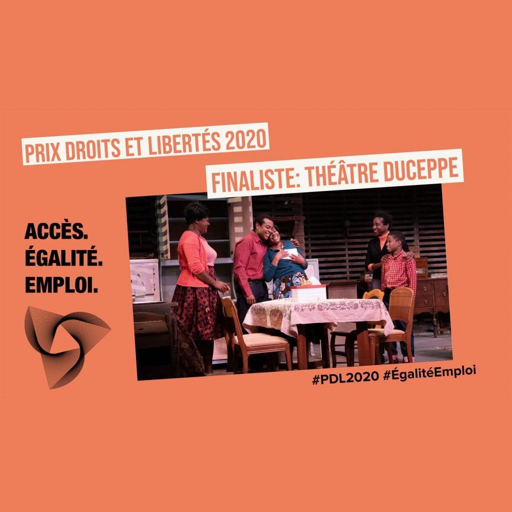 Duceppe parmi les finalistes du Prix Droits et Libertés